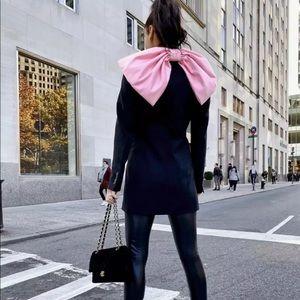 NWT Zara Bow Blazer Dress